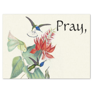 Priez laissez Dieu inquiéter le papier de soie de