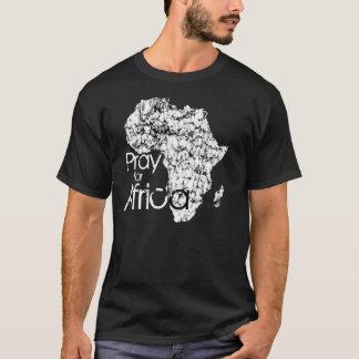 Priez pour l'Afrique T-shirt