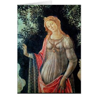 Primavera, petit groupe de Vénus, c.1478 Cartes