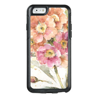 Primevère rose et orange coque OtterBox iPhone 6/6s