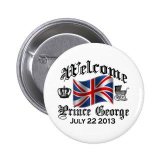 Prince bienvenu George le 22 juillet Pin's