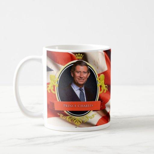 Prince Charles Historical Mug