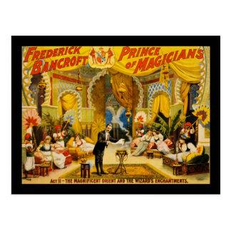 Prince de Frederick Bancroft des magiciens Cartes Postales