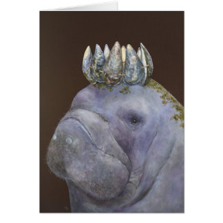 Prince de la carte pourpre de lamantins
