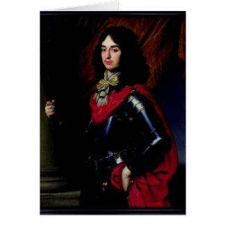 Prince Edouard de portrait du Palatinat dans Carte De Vœux