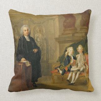 Prince George (1738-1820) et prince Edouard août Oreillers