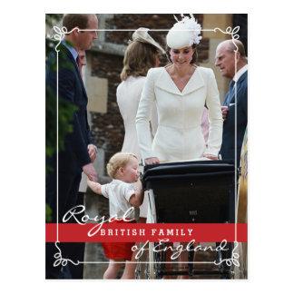 Prince George - famille royale de Kate Middleton Carte Postale