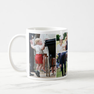 Prince George - princesse Charlotte - William Kate Mug