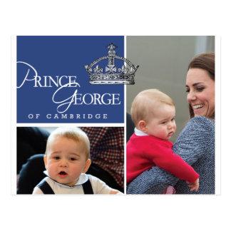 Prince George - William et Kate Cartes Postales