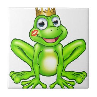 Prince Kiss de grenouille de bande dessinée Petit Carreau Carré