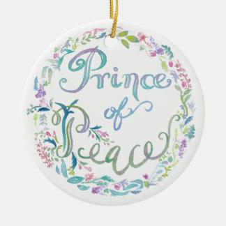 """""""Prince ornement d'aquarelle de paix"""" - 9:6"""