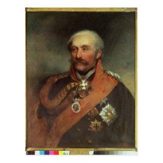 Prince Von Blucher c.1816 de maréchal de champ Carte Postale