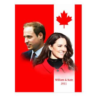 Prince William - carte postale de Kate Middleton