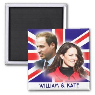 Prince William et aimant de Kate Middleton