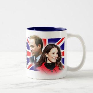 Prince William et tasse de Kate Middleton
