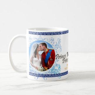 Prince William et tasse royale de mariage de Kate