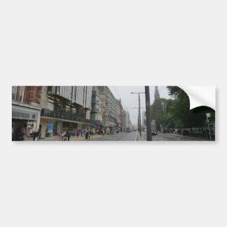 Princes Street, Edimbourg Autocollant De Voiture