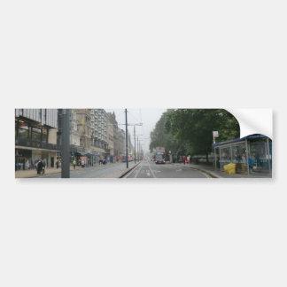 Princes Street en septembre 2014 d'Edimbourg Autocollant Pour Voiture