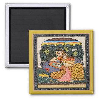 Princesse Art Style de Mughal Aimant