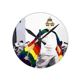 Princesse authentique horloge ronde