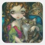 """""""Princesse avec l'autocollant d'un chat de"""
