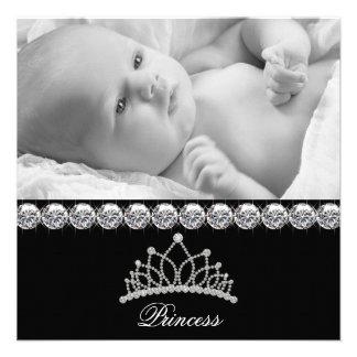 Princesse Baby Birth Announcements de diadème