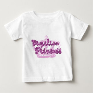 Princesse brésilienne t-shirt pour bébé