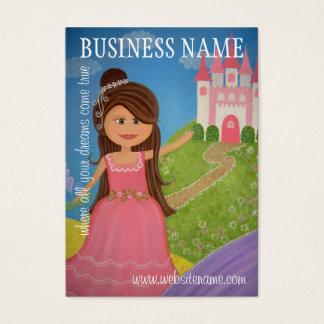 Princesse Castle - étiquettes et cartes de visite