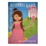 Princesse Castle - étiquettes et cartes de visite  Carte De Visite