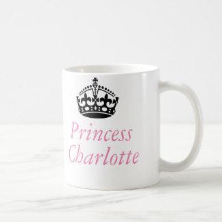 Princesse Charlotte et couronne britannique Mug