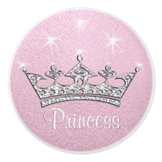 Princesse Custom Pink Knobs pour des meubles,