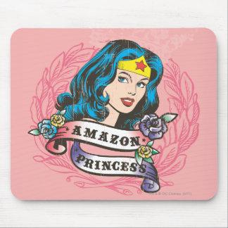 Princesse d Amazone de femme de merveille Tapis De Souris