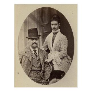 PRINCESSE DAGMAR du Danemark et Alexandre III #284 Cartes Postales