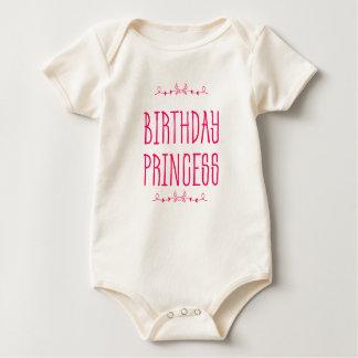 Princesse d'anniversaire - le ęr anniversaire du body