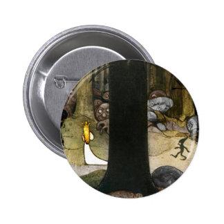 Princesse dans les bois badges