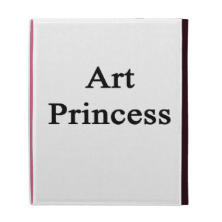 Princesse d'art étui iPad folio