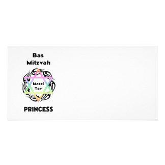 Princesse de Bas Mitzvah Photocartes