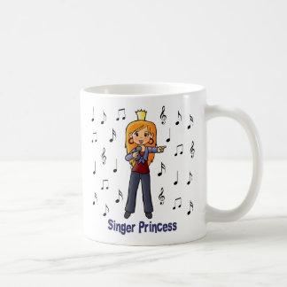 Princesse de chanteur mug