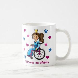 Princesse de fauteuil roulant mug