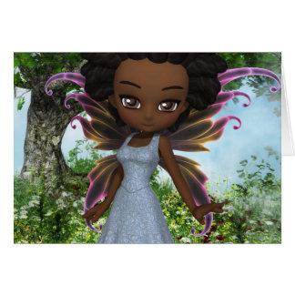 Princesse de fée de Lil Cartes De Vœux