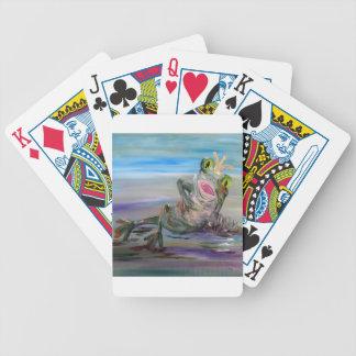 Princesse de grenouille jeu de poker