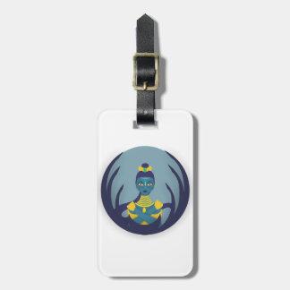 Princesse de la lune étiquette pour bagages