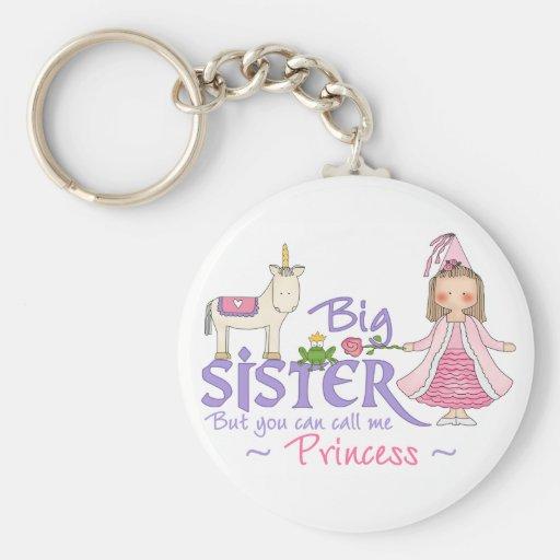 Princesse de licorne porte-clef