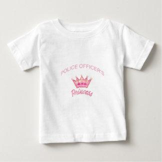 Princesse de policiers t-shirt pour bébé