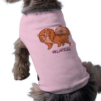Princesse de Pomeranian vêtements pour animaux domestiques