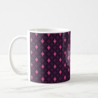 Princesse de Rockstar Pink Pattern pour des filles Mug