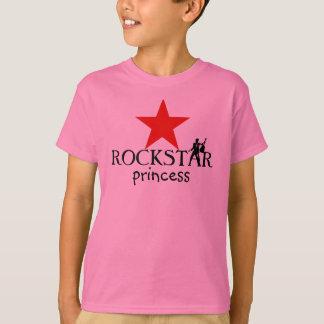 Princesse de ROCKSTAR - T-shirt de filles