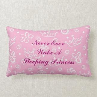 Princesse de sommeil Pillow de bébé Coussin Rectangle