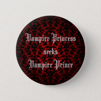 Princesse de vampire flirty badge