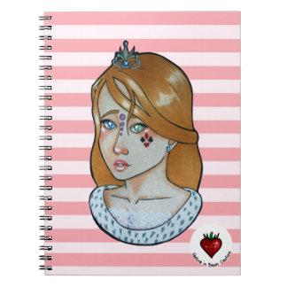 Princesse des as - carnet (rose)